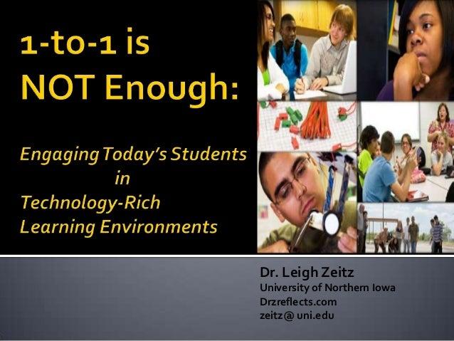 Dr. Leigh Zeitz University of Northern Iowa Drzreflects.com zeitz@ uni.edu