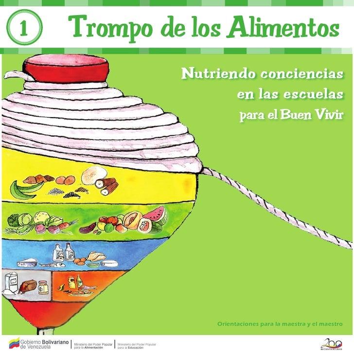 1   Trompo de los Alimentos                Orientaciones para la maestra y el maestro