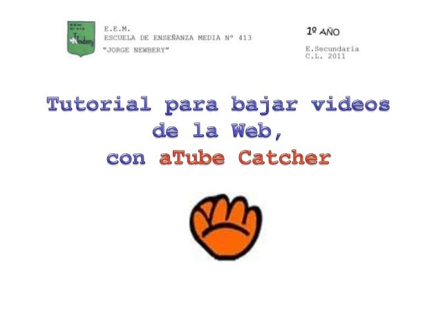 ¿Para qué sirve Atube Catcher?1- Para descargar videos de la Web.Con aTube Catcher podes descargar vídeos de diferentessit...