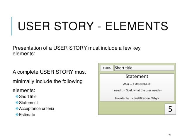writing user stories User stories, even more so than use cases, are vital today to describe how software works you can make your stories better by following these tips.