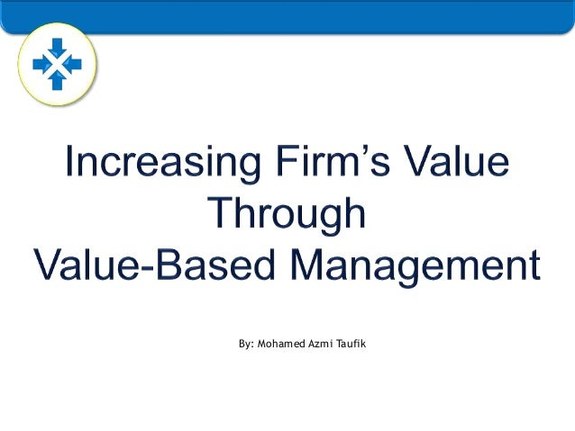increasing firm value through detection