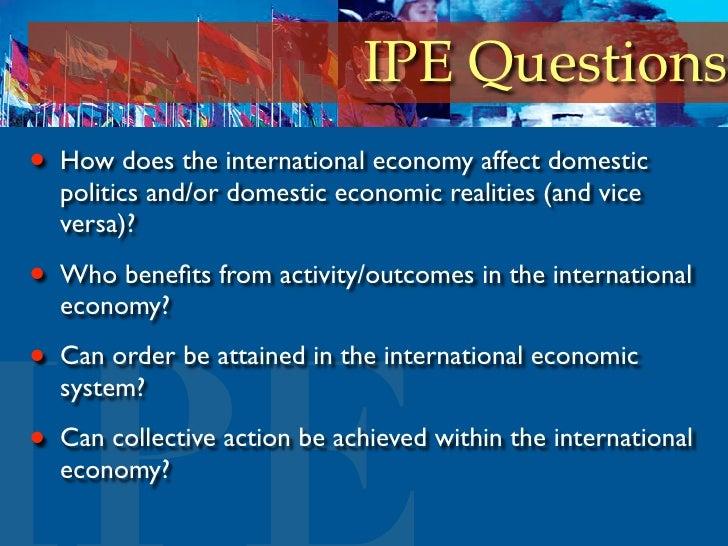 Ipe international political economy