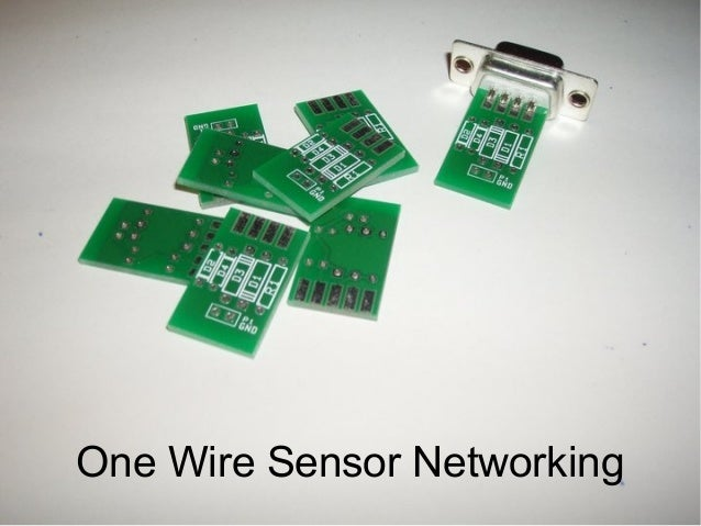 One Wire Sensor Networking