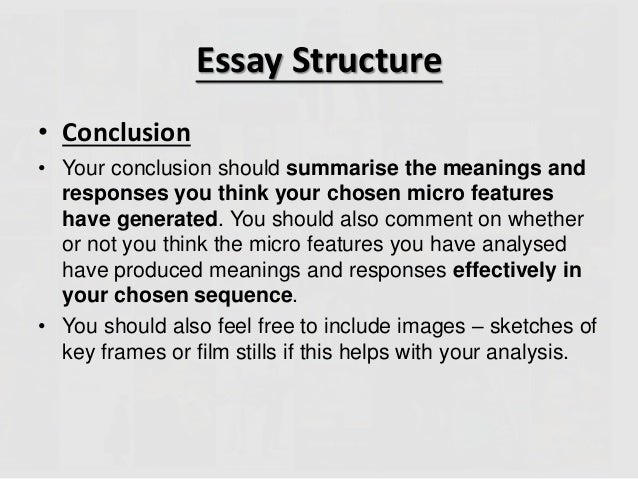 how do you conclude an analytical essay How to write an argument analysis essay  conclude the analysis with the discussion of your strongest point or with a short discussion of the subject matter as it.