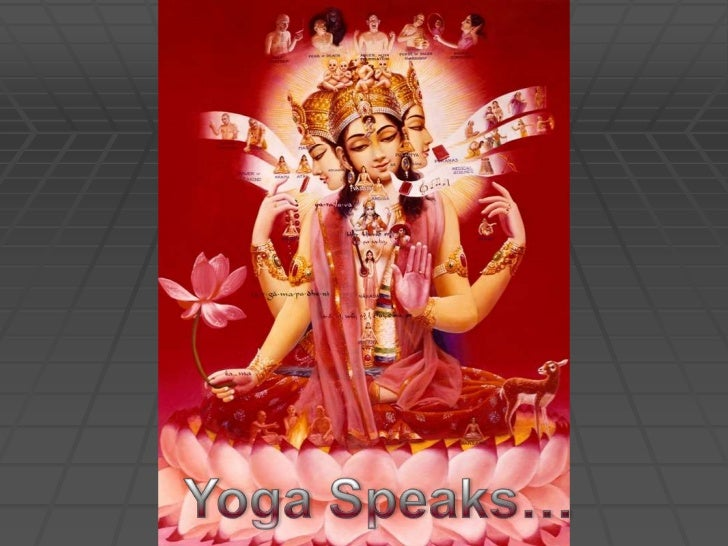 Yoga Speaks…<br />