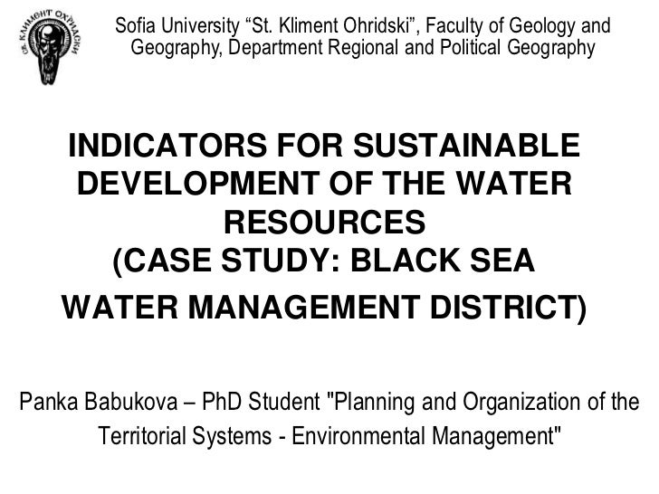 """Sofia University """"St. Kliment Ohridski"""", Faculty of Geology and          Geography, Department Regional and Political Geog..."""
