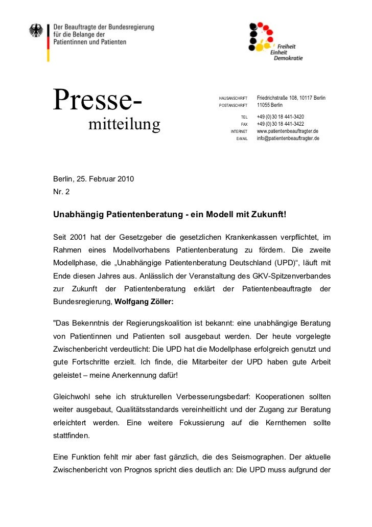 Presse-                                               HAUSANSCHRIFT                                                      P...
