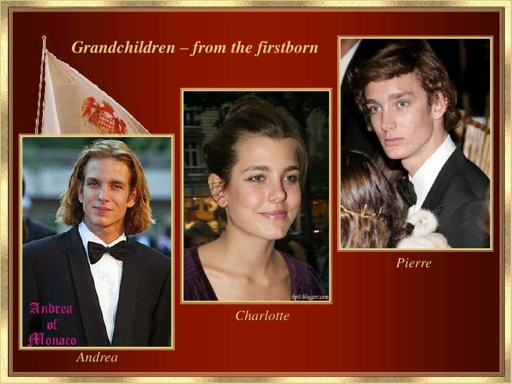 Grandchildren From The Firstborn Pierre Charlotte Andrea 15