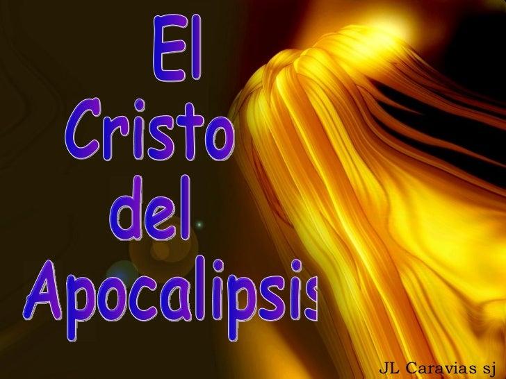 JL Caravias sj El  Cristo  del Apocalipsis