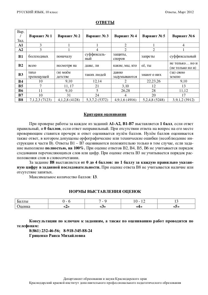 Кдр ответы февраль 2017г краевая работа обществознание 10 класс