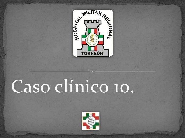 Caso clínico 10.