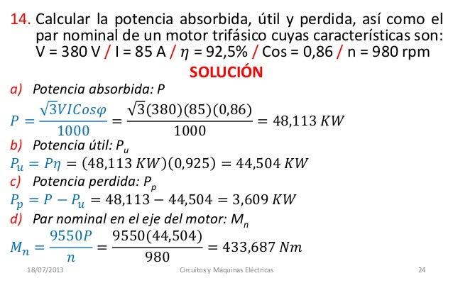 Unamad Circuitos Y Maquinas Electricas 10 I 402 Clase