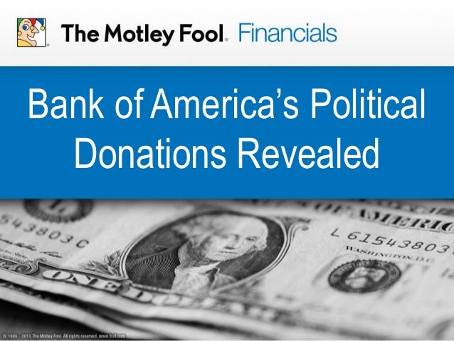 Bank of America's Political Donations Revealed