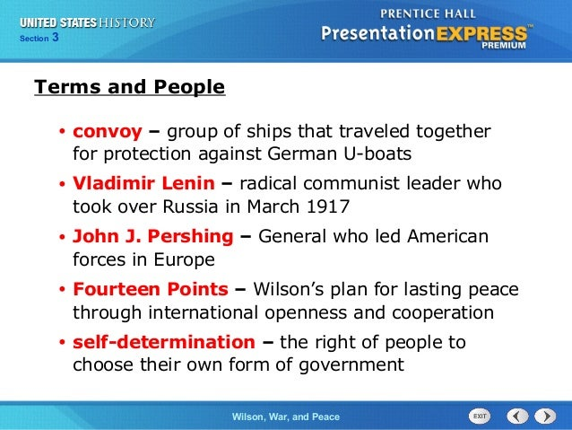 US History Ch  10 Section 3 Notes