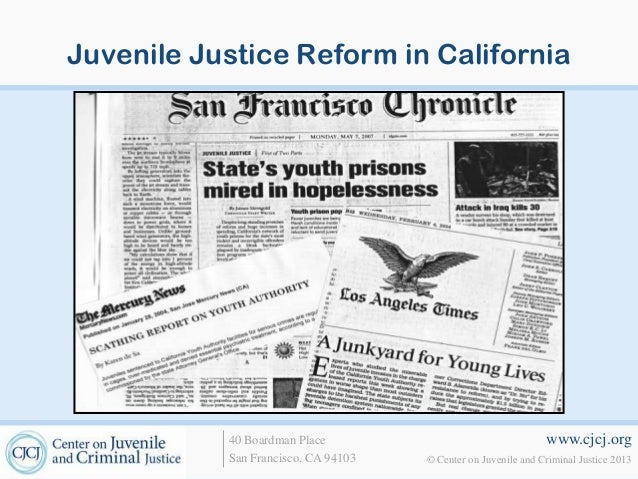 Juvenile Justice Reform: Increasing Prevention and Reducing Arrests