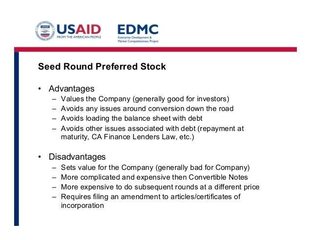 advantages of preferred stock