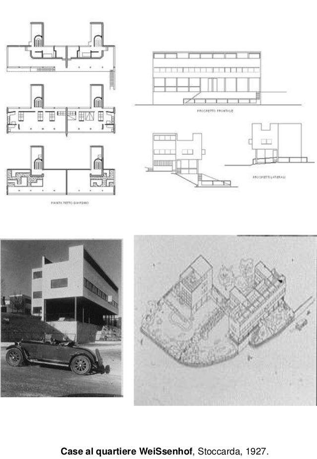 10 le corbusier e il razionalismo in francia for Villas weissenhofsiedlung