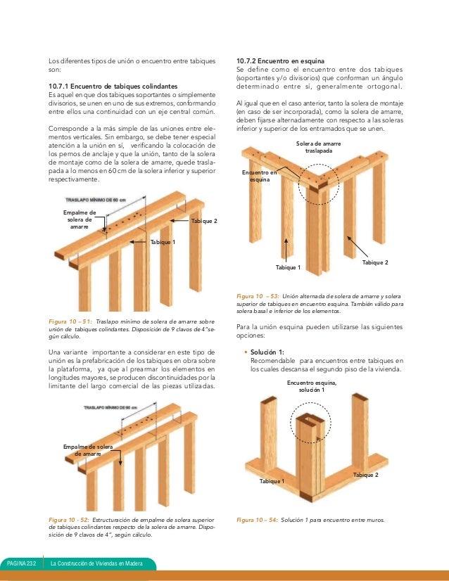Construccion de caba as de madera 10 31 - Tabiques de madera ...