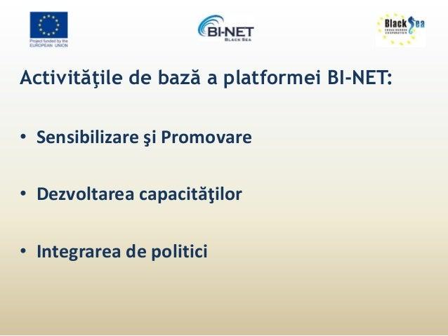 CONECTAŢI-VĂ LA BI-NET!  NICOLAE SAPIANIC  Project Manager, BI-Net  Organizaţia Pentru Dezvoltarea Sectorului  Întreprinde...
