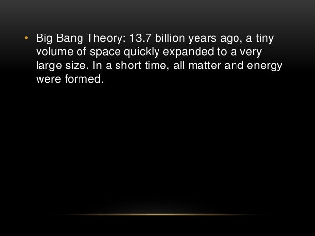 the indisputable evidence supporting the big bang theory These are known as the 4 pillars of the big bang theory four independent lines of evidence that build up one of the most influential and well-supported theories in all of cosmology but there are.