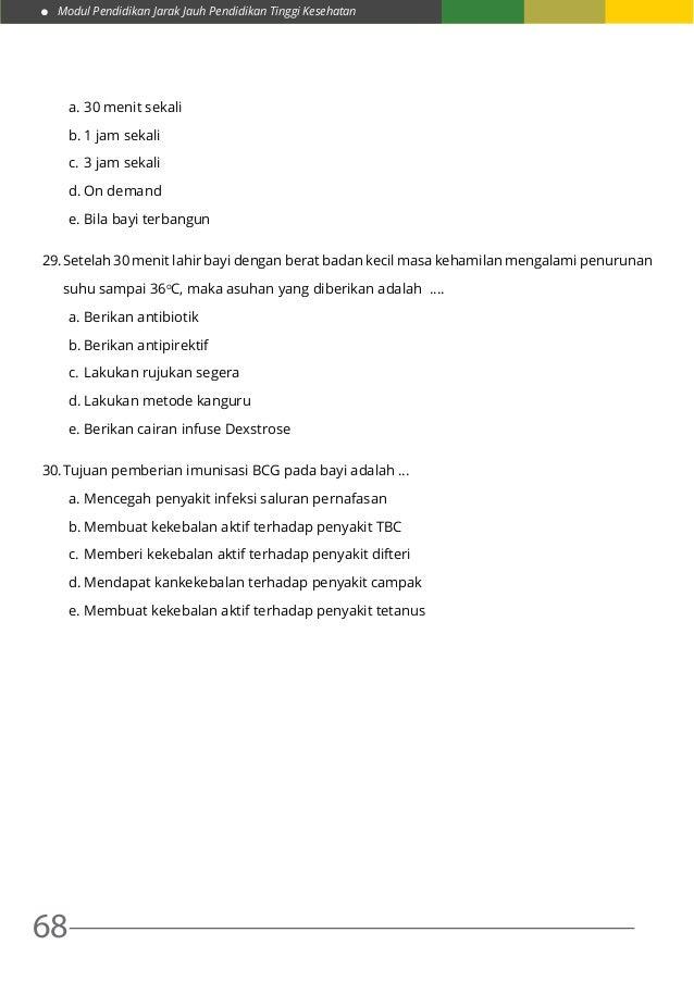 10. praktik asuhan kebidanan pada neonatus, bayi, balita ...