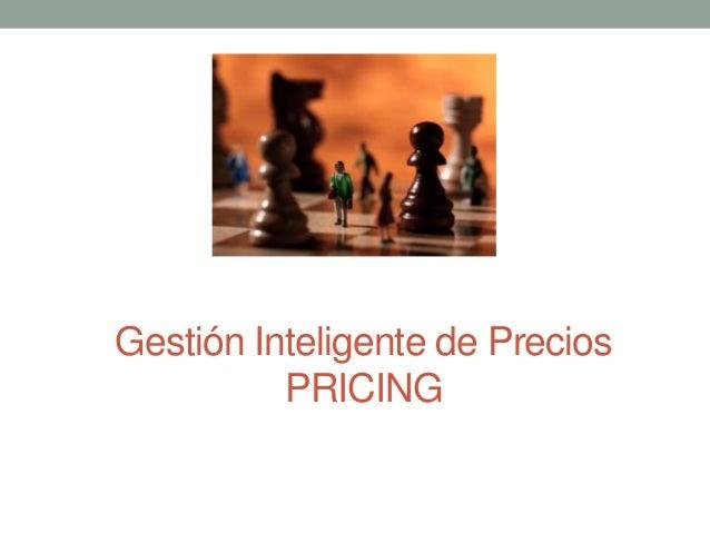 Gestión Inteligente de Precios PRICING