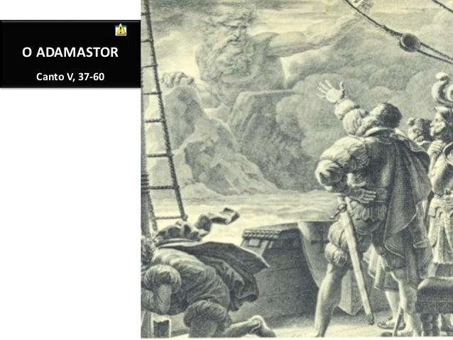 O ADAMASTOR Canto V, 37-60