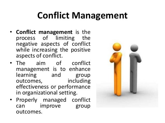 conflict management od interventions organizational