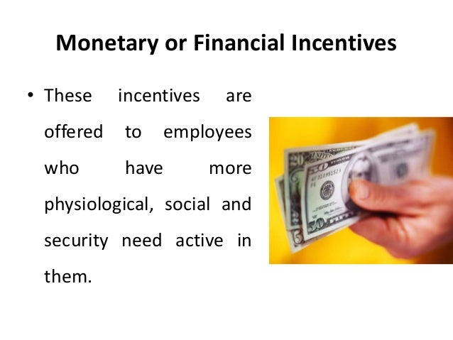 financial and non financial incentive motivators Explain different financial and non-financial incentives used to motivate employees of a company business studies directing.