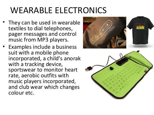10. smart textiles