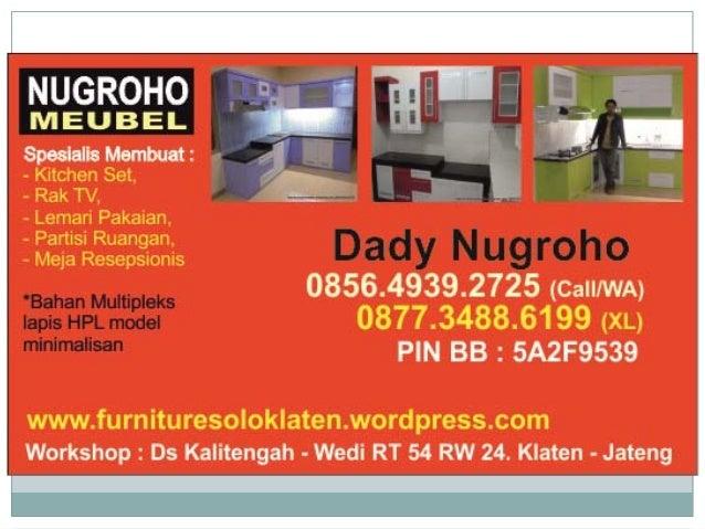Harga Kitchen Set Murah Di Yogyakarta Mebel Minimalis Yogyakarta
