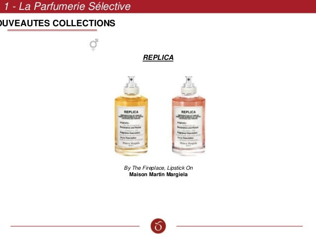 1 - La Parfumerie Sélective REPLICA By The Fireplace, Lipstick On Maison Martin Margiela OUVEAUTES COLLECTIONS