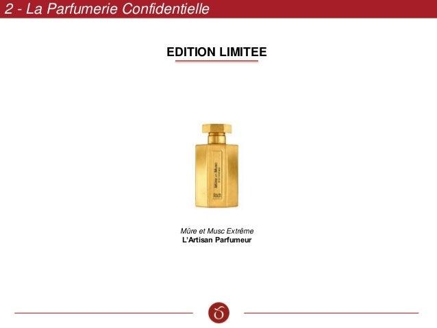 EDITION LIMITEE 2 - La Parfumerie Confidentielle Mûre et Musc Extrême L'Artisan Parfumeur
