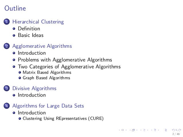 28 Machine Learning Unsupervised Hierarchical Clustering Slide 2
