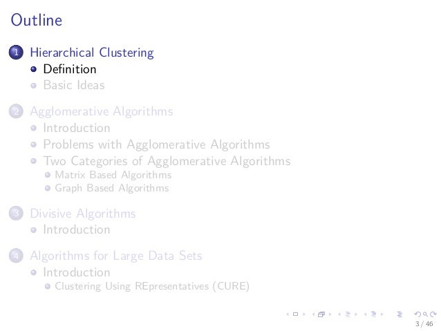 28 Machine Learning Unsupervised Hierarchical Clustering Slide 3