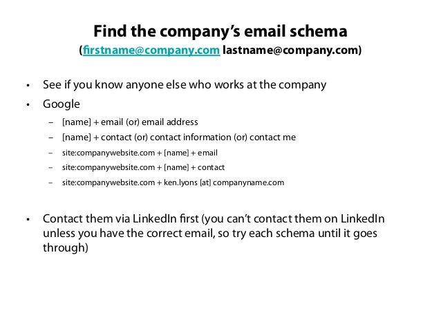 Great, now you have theiremail?What do you say when youcontact them?