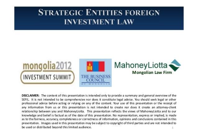 10.29-31.2012, PRESENTATION, Strategic Entities Foreign ...