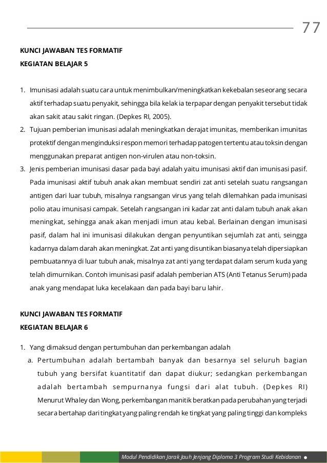 Modul 10 Praktik Kebid III