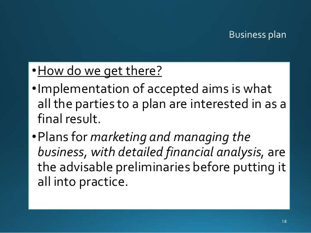 GCSE Business Studies - What is a Business Plan?