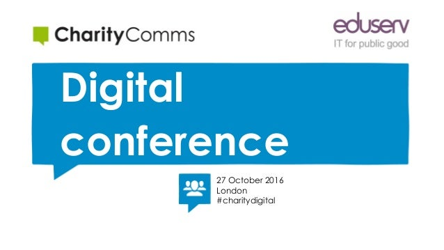 Putting users at the heart of your digital products   Digital conference   27 October 2016