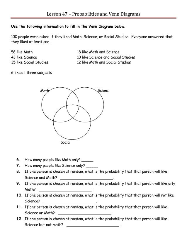 Venn Diagram Problems And Solutions Yelomdiffusion