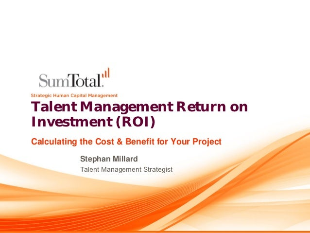 roi in talent management #talent management evaluating roi for hipo programs secondly, how they stand on the talent management grid (which is the balance of performance and potential and values sometimes) gives an overview of how the person is being perceived as a holistic.
