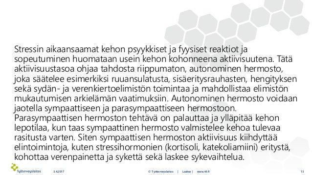 Sympaattisen Hermoston Ylirasitus