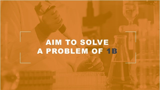 AIM TO SOLVE A PROBLEM OF 1B