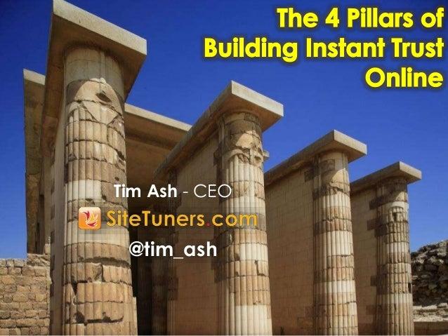 Tim Ash - CEO @tim_ash