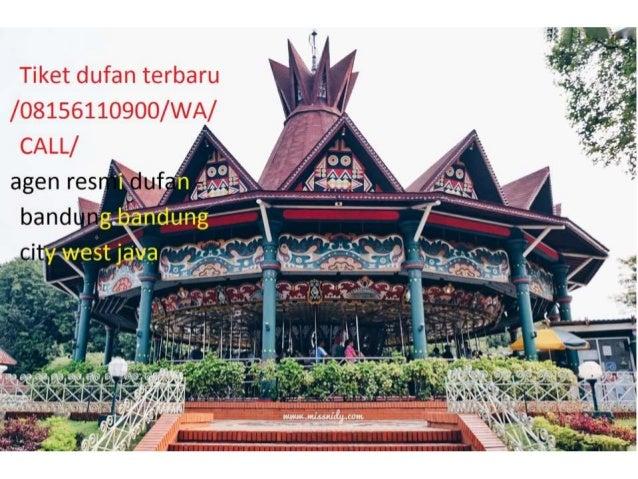 Dufan Promo 08156110900 Wa Call Tiket Dufan Rombongan