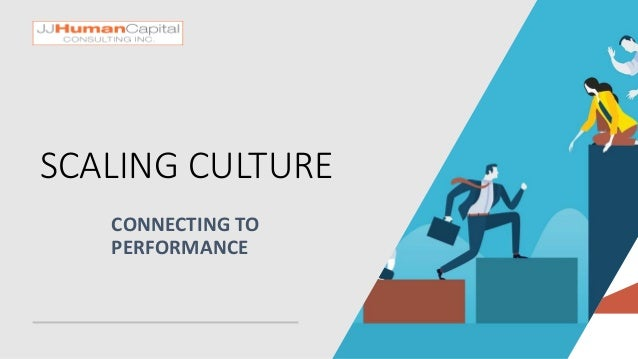SCALING CULTURE CONNECTING TO PERFORMANCE