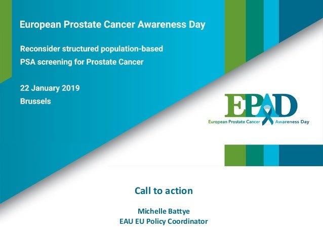 Call to action Michelle Battye EAU EU Policy Coordinator