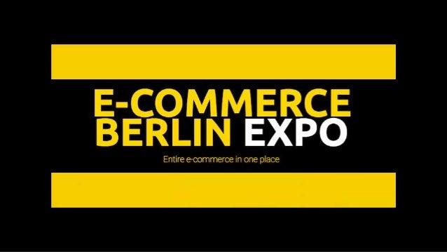 E-Commerce Trends 2019 – fears & desires of German online-shoppers Erik Meierhoff Head of B2B Business @Meierhoff