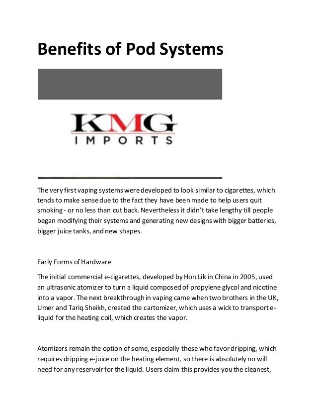 wholesale pod systems